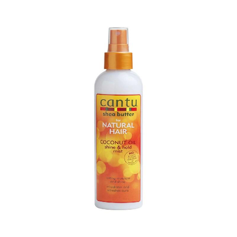 SPRAY HYDRATANTHUILE DE COCO - COCONUT OIL SHINE & HOLD MIST |NATURAL HAIR - Mix Beauty : Expert de la beauté noire et métisse et aussi pour cheveux afro, crépus, frisés, bouclés
