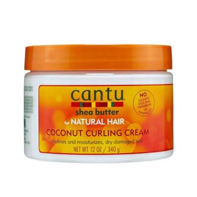 CRÈME DÉFINITION DES BOUCLES - COCONUT CURLING CREAM |NATURAL HAIR - Mix Beauty : Expert de la beauté noire et métisse et aussi pour cheveux afro, crépus, frisés, bouclés