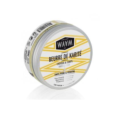 BEURRE DE KARITE PUR 100GR - Mix Beauty : Expert de la beauté noire et métisse et aussi pour cheveux afro, crépus, frisés, bouclés