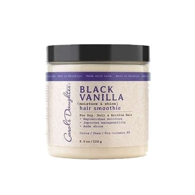 SMOOTHIE NOIR À LA VANILLE POUR CHEVEUX HYDRATANT ET BRILLANT-BLACK VANILLA MOISTURE & SHINE HAIR SMOOTHIE