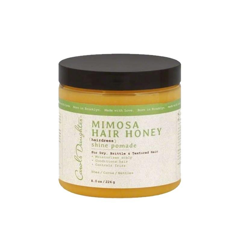 MIMOSA CHEVEUX MIEL - SHINE POMADE |MIMOSA HAIR HONEY - Mix Beauty : Expert de la beauté noire et métisse et aussi pour cheveux afro, crépus, frisés, bouclés