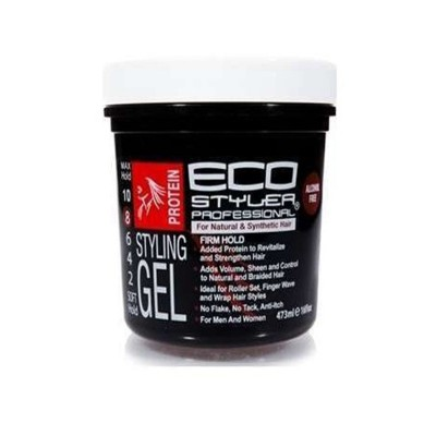 ECO STYLER - PROTEIN STYLING GEL BLACK