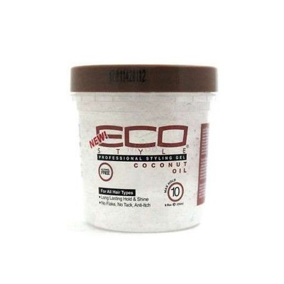 GEL HUILE DE COCO - COCONUT OIL GEL - Mix Beauty : Expert de la beauté noire et métisse et aussi pour cheveux afro, crépus, frisés, bouclés