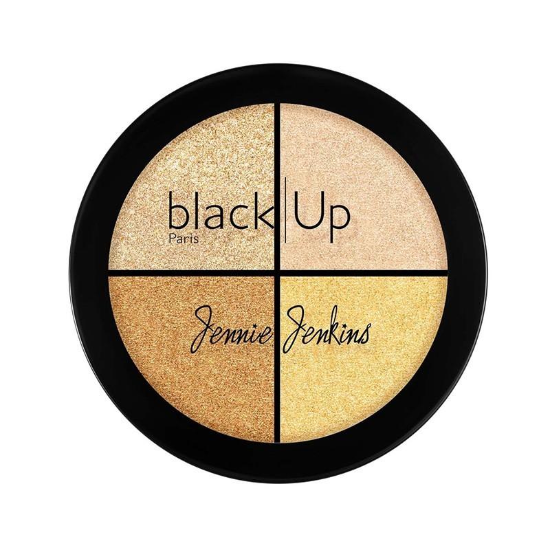 PALETTE HIGHTLIGHTER JENNIE JENKINS N°01 - Mix Beauty : Expert de la beauté noire et métisse et aussi pour cheveux afro, crépus, frisés, bouclés