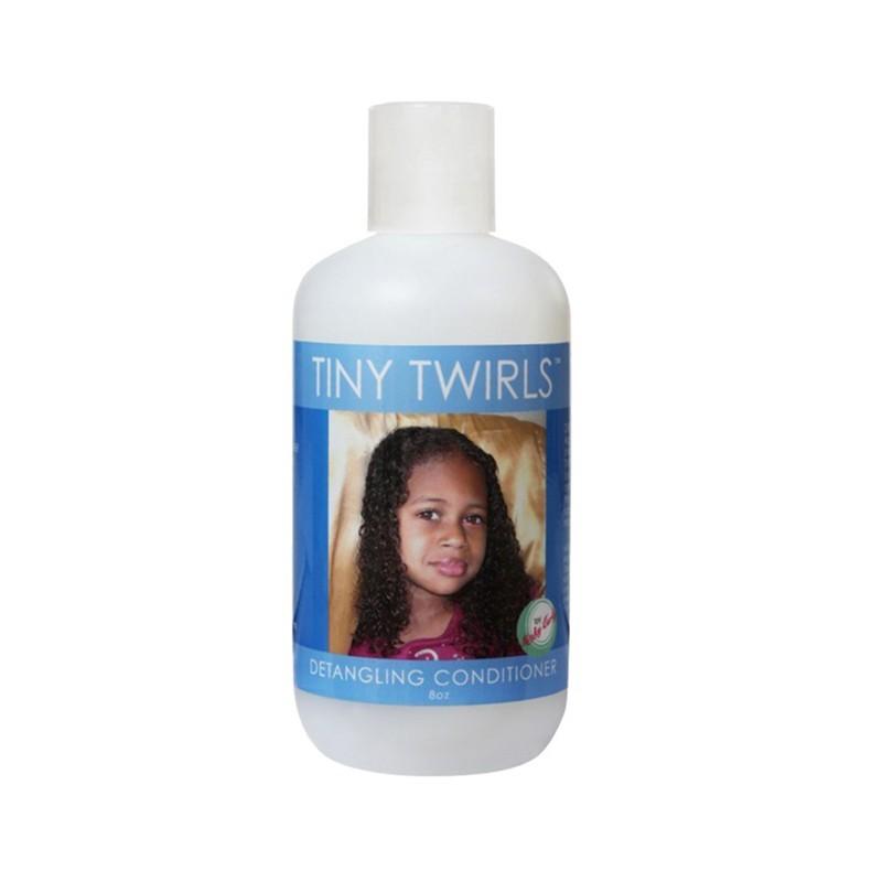 TINY TWIRLS APRÈS-SHAMPOING DÉMÊLANT ENFANTS - DETANGLING CONDITIONER  TINY TWIRLS - Mix Beauty : Expert de la beauté noire et métisse et aussi pour cheveux afro, crépus, frisés, bouclés