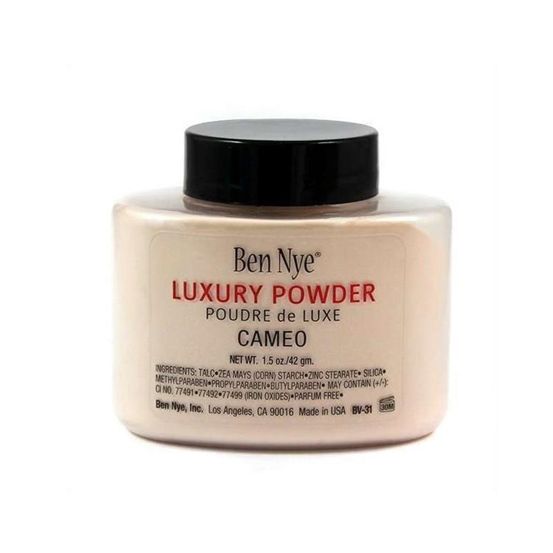 POUDRE LIBRE DE LUXE CAMEO - LUXURY LOOSE POWDER CAMEO - Mix Beauty : Expert de la beauté noire et métisse et aussi pour cheveux afro, crépus, frisés, bouclés