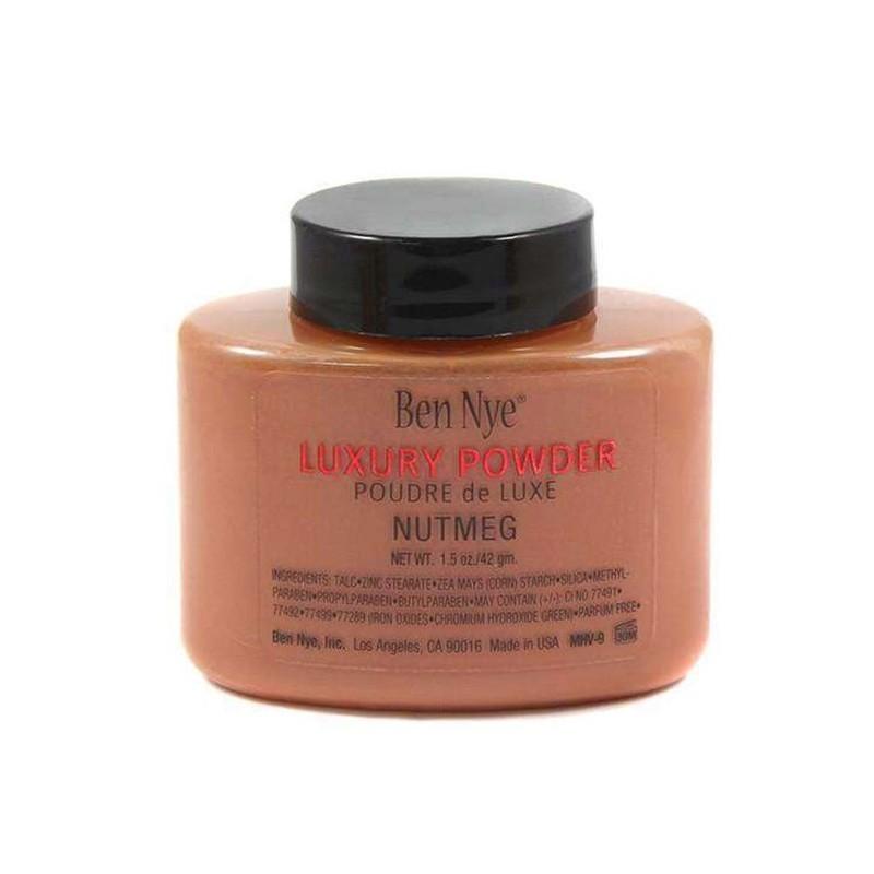 LUXURY LOOSE POWDER NUTMEG - Mix Beauty : Expert de la beauté noire et métisse et aussi pour cheveux afro, crépus, frisés, bouclés