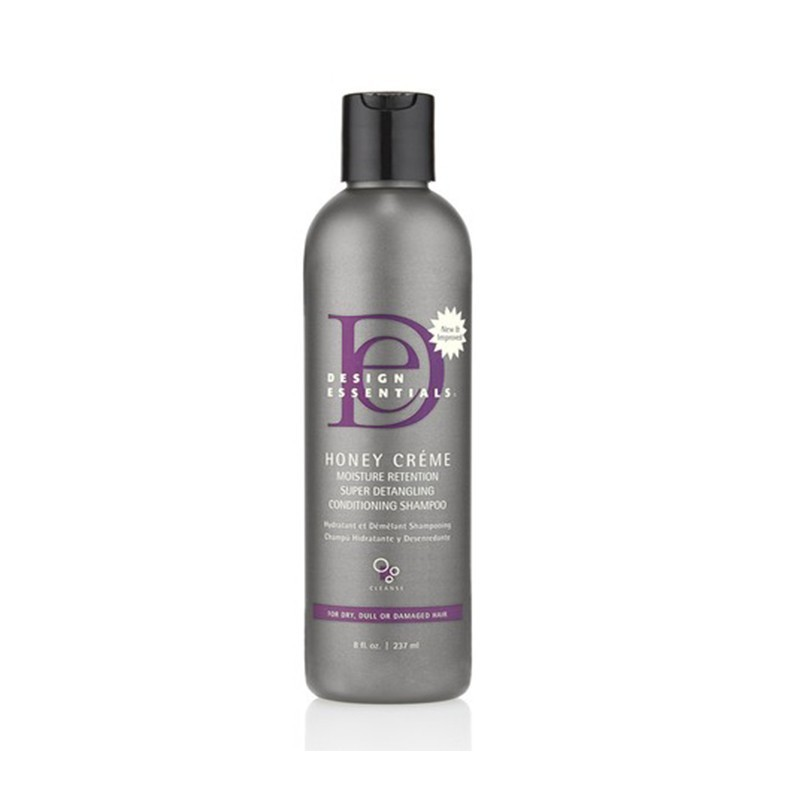 CRÈME SHAMPOING REVITALISANTE - HONEY CREME MOISTURE RETENTION SHAMPOO |DESIGN ESSENTIALS