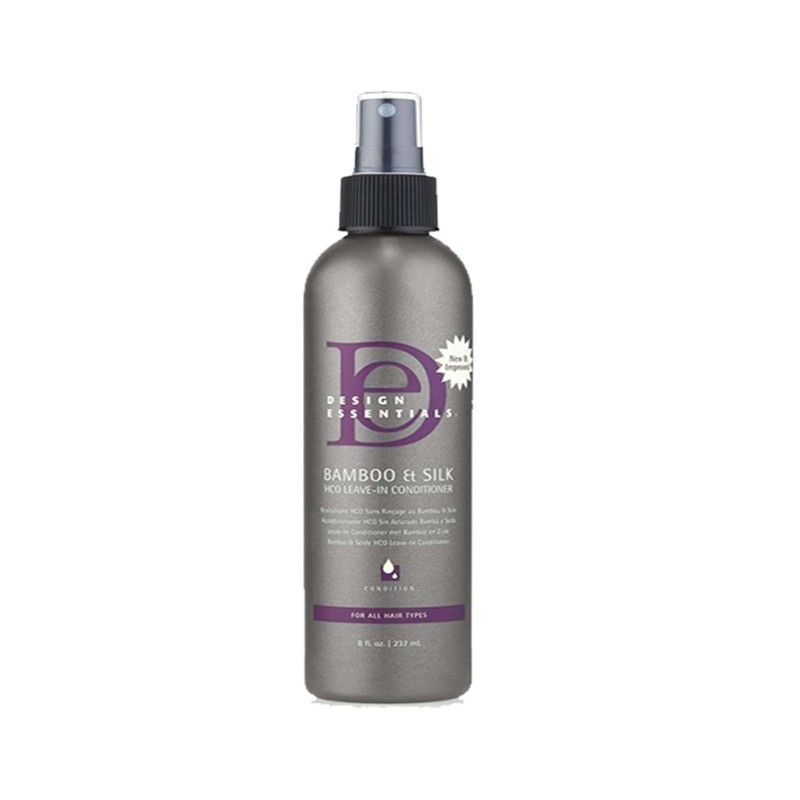 REVITALISANT SANS RINÇAGE -  BAMBOO & SILK HCO LEAVE-IN CONDITIONER |DESIGN ESSENTIALS