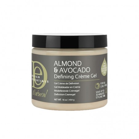 NATURAL DEFINING CRÈME GEL - ALMOND & AVOCADO