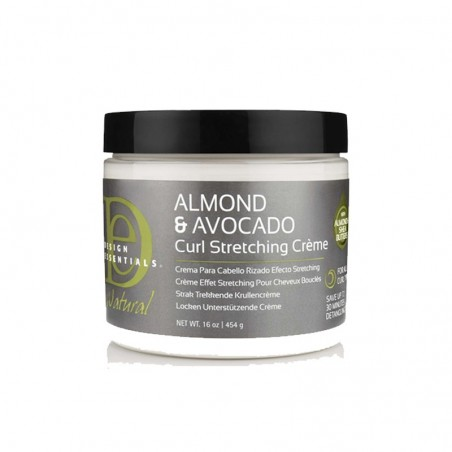 NATURAL CURL STRETCHING CREAM - ALMOND & AVOCADO