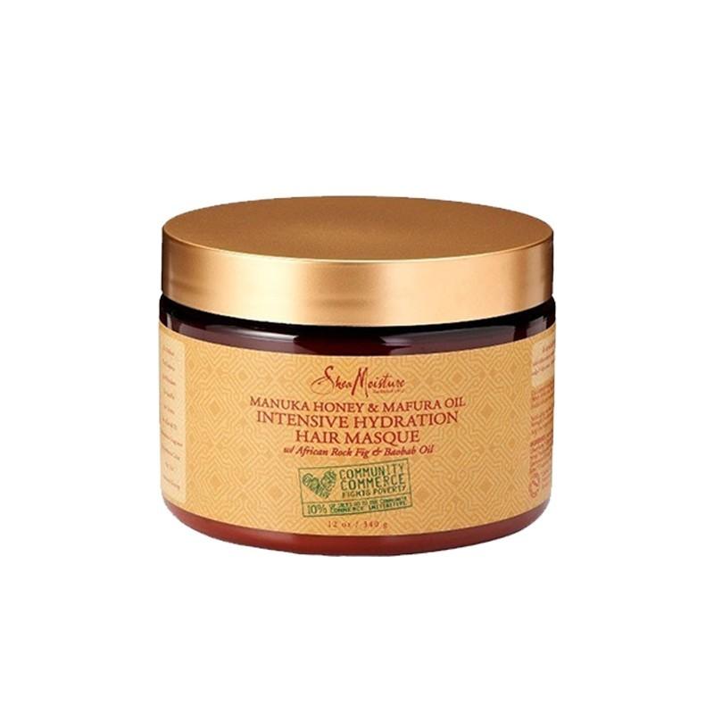 MASQUE PROFOND HYDRATATION INTENSE AU MIEL DE MANUKA & HUILE DE MAFURA - MASQUE INTENSIVE HYDRATION |MANUKA HONEY & MAFURA OIL - Mix Beauty : Expert de la beauté noire et métisse et aussi pour cheveux afro, crépus, frisés, bouclés