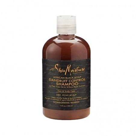 SHAMPOING ANTI-PELLICULAIRE & DÉMANGEAISON- AFRICAN BLACK SOAP