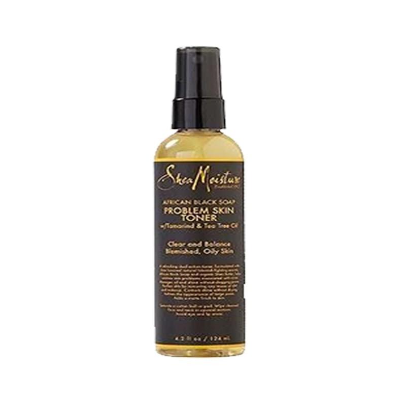 SPRAY NETTOYANT IMPURETÉS AU SAVON NOIR AFRICAIN - SKIN TONER |AFRICAN BLACK SOAP - Mix Beauty : Expert de la beauté noire et métisse et aussi pour cheveux afro, crépus, frisés, bouclés