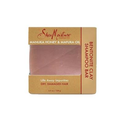 SAVON SHAMPOING  - SHAMPOO BAR BENTONITE CLAY |MANUKA HONEY & MAFURA OIL - Mix Beauty : Expert de la beauté noire et métisse et aussi pour cheveux afro, crépus, frisés, bouclés