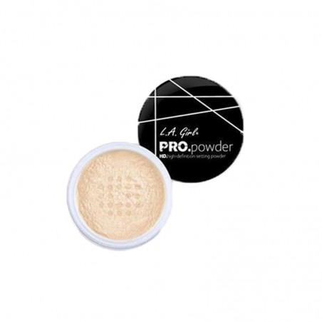 POUDRE DE FINITION & FIXATEUR - HD PRO SETTING POWDER BANANA L.A GIRL COSMETICS