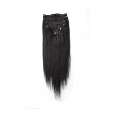 EXTENSIONS A CLIPS LISSES 7 BANDES  MIX BEAUTY - 7 BANDS SMOOTH CLIPS EXTENSIONS MIX BEAUTY