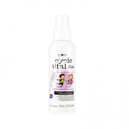 EUGENE PERMA CYCLE VITAL KIDS LOTION RÉPULSIVE POUX-HEAD LICE REPELLENT LOTION EUGENE PERMA