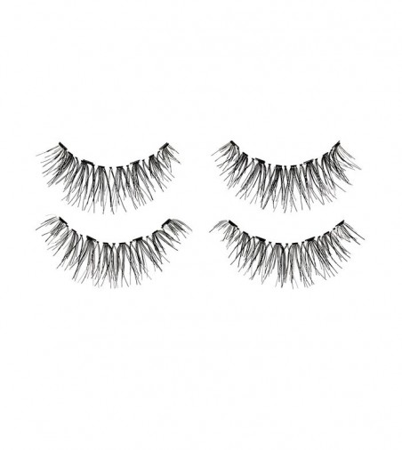 FAUX CILS MAGNETIQUES DOUBLES FRANGES -  MAGNETIC DOUBLE  WISPIES FAKE EYELASHES