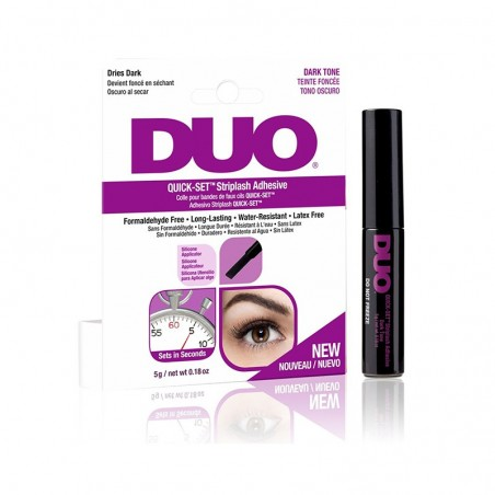DUO COLLE RAPIDE POUR FAUX CILS  - DUO QUICK-SET TRIP LASHES DARK TONE