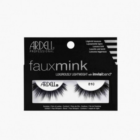 FAUX CILS FAUX MINK 810 ARDELL - 810 MINK FAKE EYELASHES ARDELL