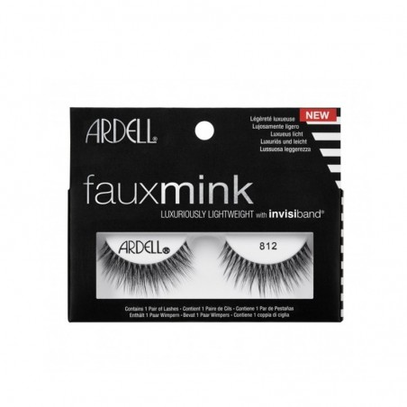 FAUX CILS FAUX MINK 812 ARDELL - 812 MINK FAKE EYELASHES ARDELL
