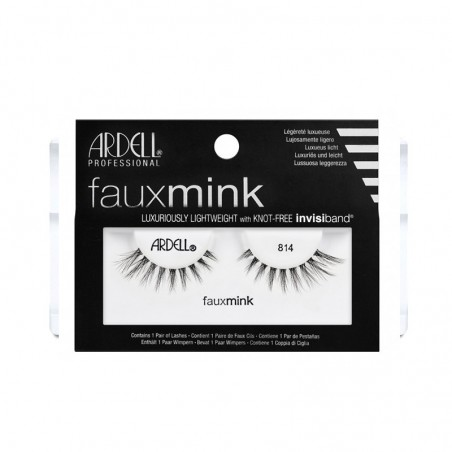FAUX CILS FAUX MINK 814 ARDELL - 814 MINK FAKE EYELASHES ARDELL