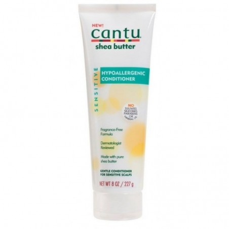 APRÈS-SHAMPOING HYPOALLERGIQUE SENSITIVE CANTU – HYPOALLERGENIC CONDITIONER CANTU SHEA BUTTER
