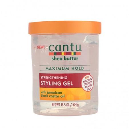GEL COIFFANT & FIXANT AU RICIN NOIR CANTU – STRENGTHENING STYLING GEL CANTU