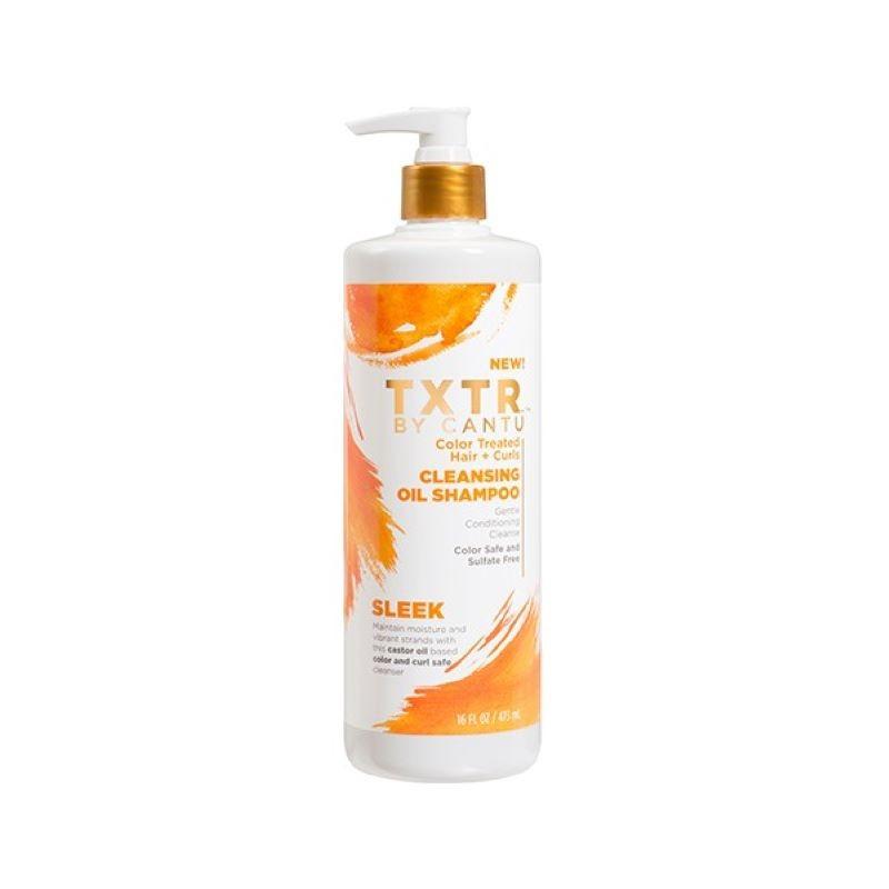 SHAMPOING NETTOYANT – CLEASING OIL SHAMPOO |TXTR - Mix Beauty : Expert de la beauté noire et métisse et aussi pour cheveux afro, crépus, frisés, bouclés