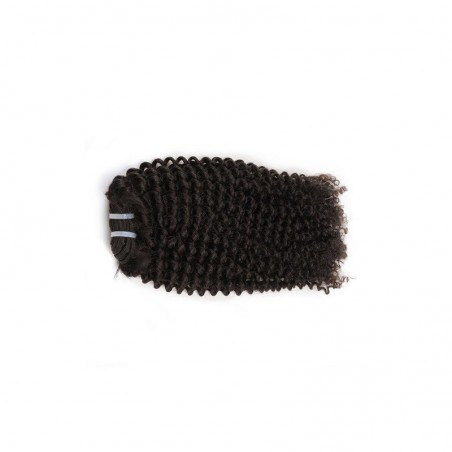 MÈCHES TISSAGE CHEVEUX VIERGES INDIENS (VIRGIN HAIR) FRISÉES (KINKY)