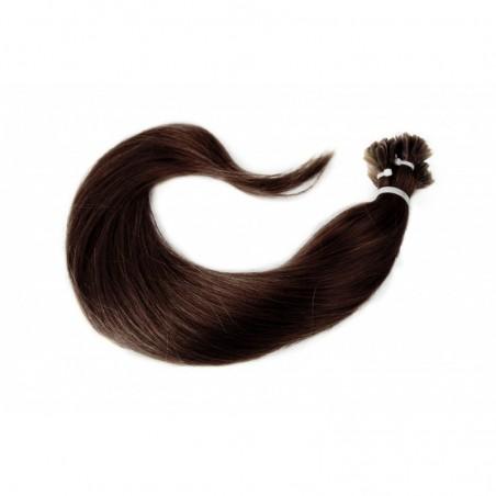 EXTENSIONS KÉRATINE LISSES 100% CHEVEUX NATURELS (REMY HAIR)