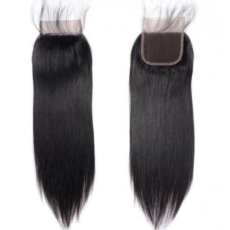 TOP CLOSURE 4*4 CHEVEUX LISSES 100% NATURELS REMY HAIR - Mix Beauty : Expert de la beauté noire et métisse et aussi pour cheveux afro, crépus, frisés, bouclés