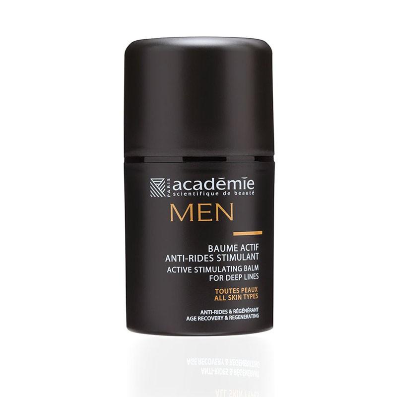 BAUME ACTIF STIMULANT ANTI-RIDES |MEN - Mix Beauty : Expert de la beauté noire et métisse et aussi pour cheveux afro, crépus, frisés, bouclés