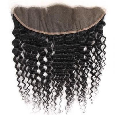FRONTAL CLOSURE 13*4 CHEVEUX BOUCLÉS 100% NATURELS (CURLY) - Mix Beauty : Expert de la beauté noire et métisse et aussi pour cheveux afro, crépus, frisés, bouclés