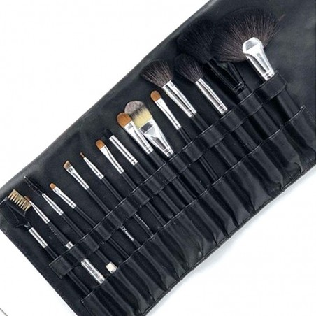 KIT DE 15 PINCEAUX PROFESSIONNELS MIX BEAUTY -  KIT OF 15 PROFESSIONAL BRUSHES MIX BEAUTY