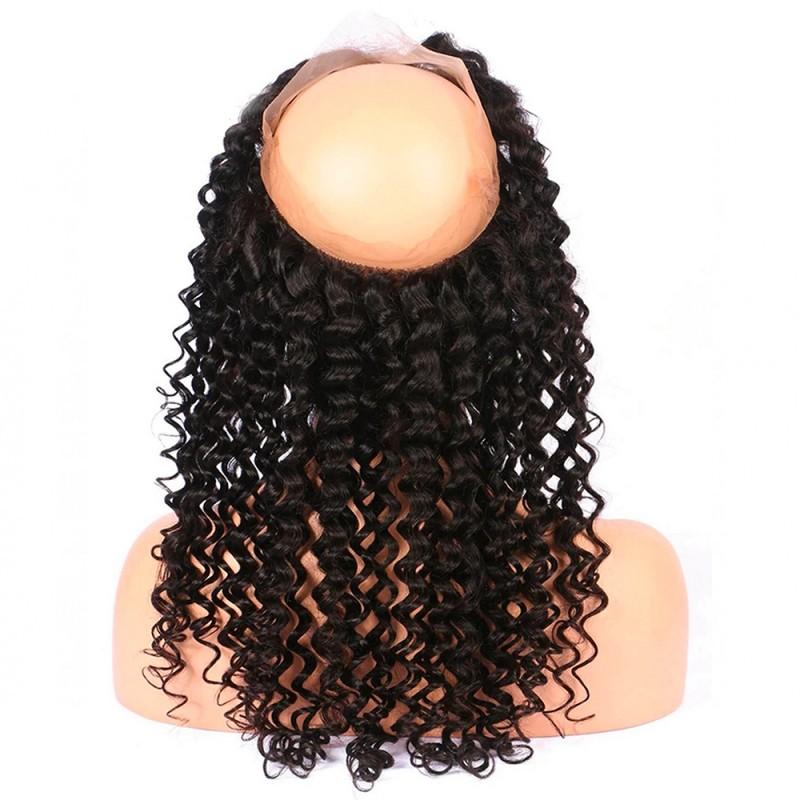 CLOSURE LACE FRONTALE 360° CHEVEUX FRISÉS 100% NATURELS (KINKY) - Mix Beauty : Expert de la beauté noire et métisse et aussi pour cheveux afro, crépus, frisés, bouclés