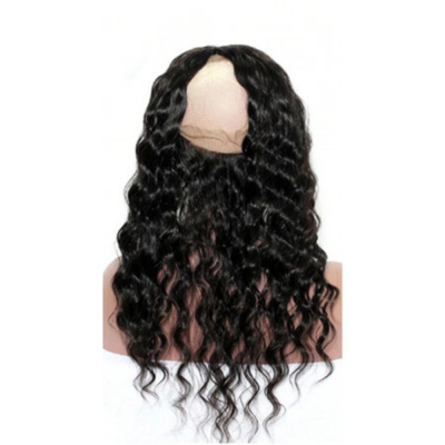 CLOSURE LACE FRONTALE 360° CHEVEUX BOUCLÉS 100% NATURELS (CURLY) MIX BEAUTY - Mix Beauty : Expert de la beauté noire et métisse et aussi pour cheveux afro, crépus, frisés, bouclés