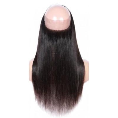CLOSURE LACE FRONTALE 360° CHEVEUX LISSE 100% NATURELS (STRAIGHT) - Mix Beauty : Expert de la beauté noire et métisse et aussi pour cheveux afro, crépus, frisés, bouclés