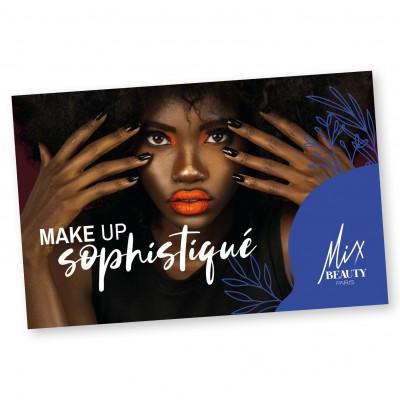CARTE CADEAU MAKE UP SOPHISTIQUE - Mix Beauty : Expert de la beauté noire et métisse et aussi pour cheveux afro, crépus, frisés, bouclés