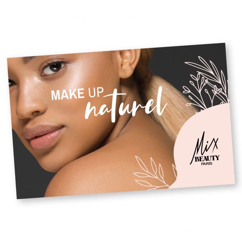 CARTE CADEAU MAKE UP NATUREL - Mix Beauty : Expert de la beauté noire et métisse et aussi pour cheveux afro, crépus, frisés, bouclés