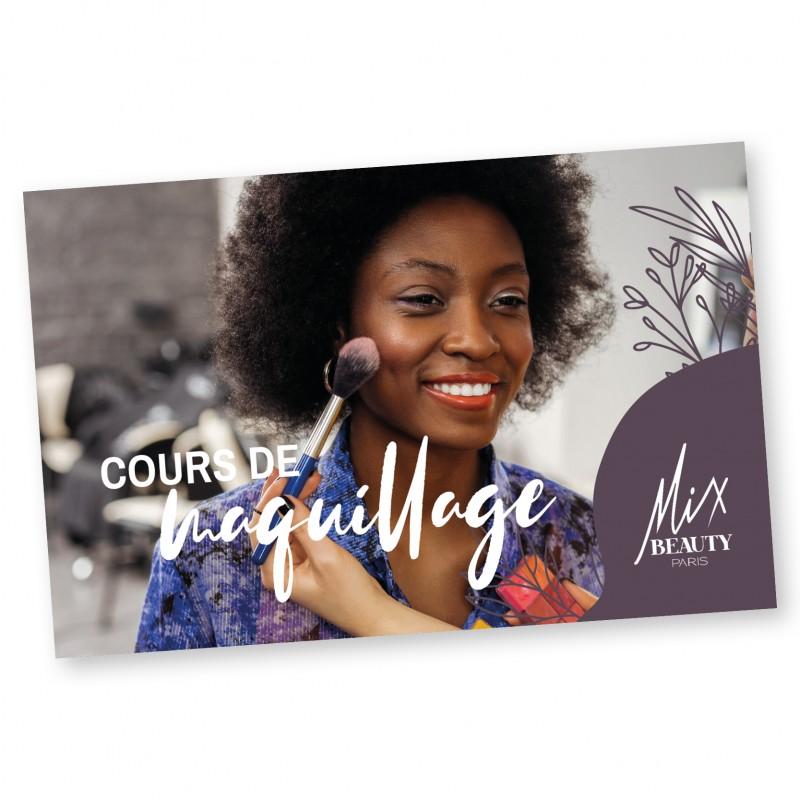 """CARTE CADEAU """"COURS MAKE UP"""" - Mix Beauty : Expert de la beauté noire et métisse et aussi pour cheveux afro, crépus, frisés, bouclés"""