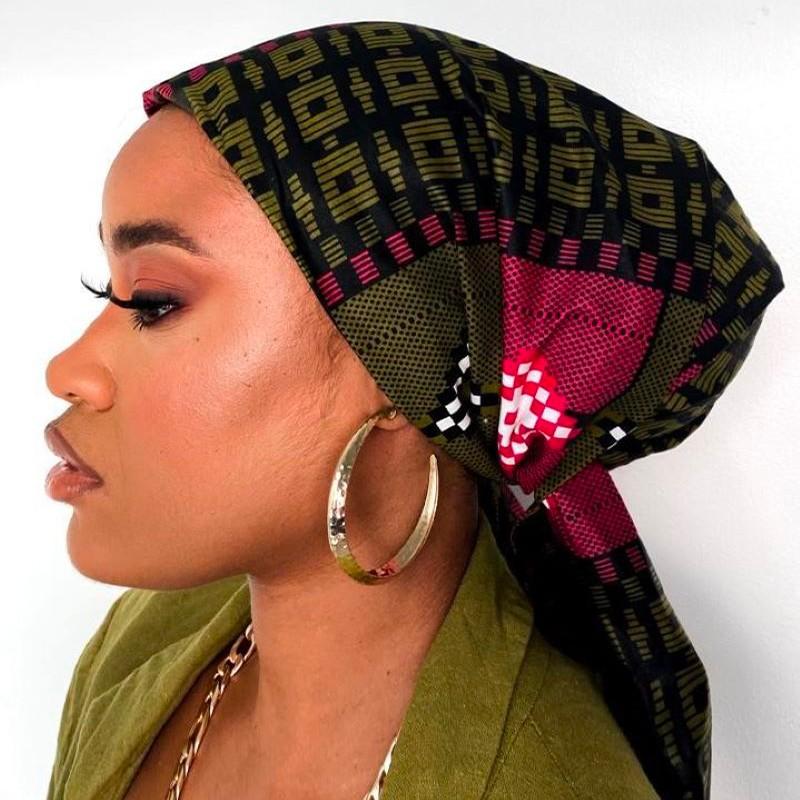 TURBAN WAX KIRA (AVEC FLEXIBLES) CRÉATION - Mix Beauty : Expert de la beauté noire et métisse et aussi pour cheveux afro, crépus, frisés, bouclés