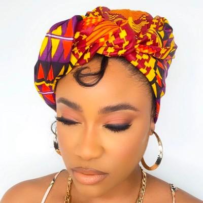 TURBAN WAX OUMI (AVEC FLEXIBLES) CRÉATION - Mix Beauty : Expert de la beauté noire et métisse et aussi pour cheveux afro, crépus, frisés, bouclés