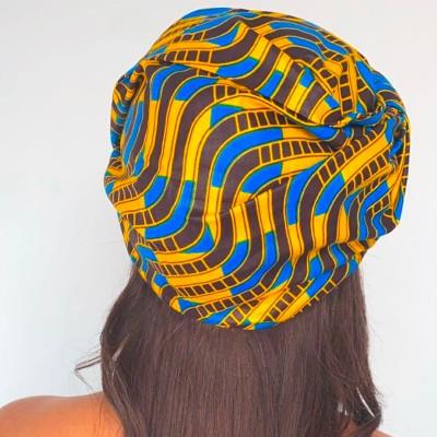 TURBAN WAX KADI (AVEC FLEXIBLES) CRÉATION - Mix Beauty : Expert de la beauté noire et métisse et aussi pour cheveux afro, crépus, frisés, bouclés