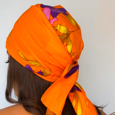 TURBAN WAX LOUBNA (AVEC FLEXIBLES) CRÉATION - Mix Beauty : Expert de la beauté noire et métisse et aussi pour cheveux afro, crépus, frisés, bouclés