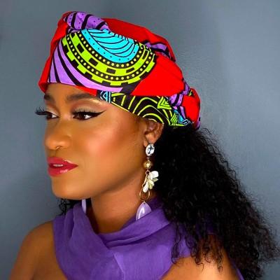 TURBAN WAX SAFI (AVEC FLEXIBLES) CRÉATION£ - Mix Beauty : Expert de la beauté noire et métisse et aussi pour cheveux afro, crépus, frisés, bouclés