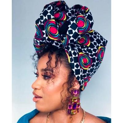 TURBAN WAX NAOMI (AVEC FLEXIBLES) CRÉATION - Mix Beauty : Expert de la beauté noire et métisse et aussi pour cheveux afro, crépus, frisés, bouclés