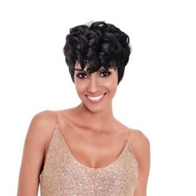 PERRUQUE GUYLAINE - WIG FASHION 1B - Mix Beauty : Expert de la beauté noire et métisse et aussi pour cheveux afro, crépus, frisés, bouclés