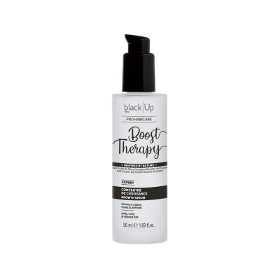 BOOST THERAPY - CONCENTRÉ DE CROISSANCE |BLACK UP - Mix Beauty : Expert de la beauté noire et métisse et aussi pour cheveux afro, crépus, frisés, bouclés